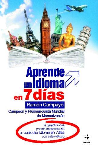 APRENDE UN IDIOMA EN 7 DIAS (Spanish Edition) ebook