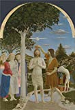 Reproductions Decorative Painting Not Stretched and Not Framed ,Piero della Francesca The Baptism of Christ , is the best gift for your relatives, or girl friend and boy friend. That is also for Bar, Basement, Bathroom, Bedroom, Dining Room, ...