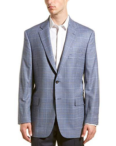 Brooks Brothers Wool Coat - Brooks Brothers Mens Madison Fit Wool Sport Coat, 44R, Blue