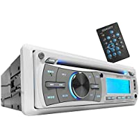 Gravity MGR-208BT 300W Single Din Marine Boat/Yatch Receiver Bluetooh/CD/SD/USB/Aux/AF/FM/MP3 Player