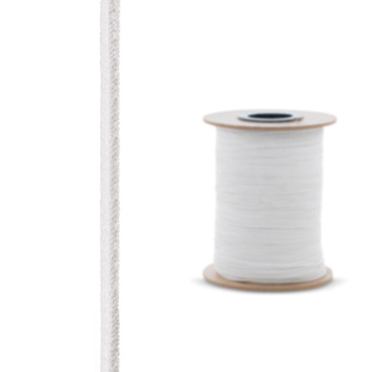 2,5 m 15x15 mm STEIGNER Corde en Fibre de Verre C/éramique SKD01-15 Blanc R/ésistante /à la Temp/érature jusqu/à 1260 /° C