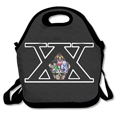 Fox Customzied HUNTER X HUNTER Logo Multifunction Lunch Tote Bag With Adjustable Straps