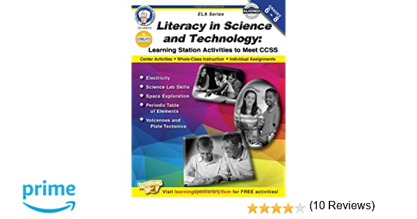 Literacy in Science and Technology, Grades 6 - 8: Learning Station ...