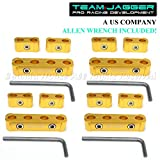 jdm spark plug wires - For Chevy Only! 12Pc Jdm Style Anodized Aluminum Spark Plug Wire Separators Gold