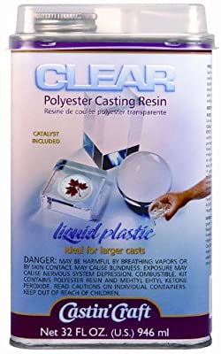 Clear polyester casting resin from Environmental Technology