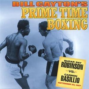 Sugar Ray Robinson vs. Carmen Basilio Radio/TV Program