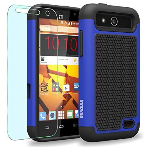 ZTE Maven / Overture 2 / Z810 / Z812 Case, INNOVAA Anti-Slip Shockproof Soft Silicone Durable Armor Case (Not Compatible...  samsung zte phone cases | PHONE CASE  ZTE-N817 516XceBHtNL
