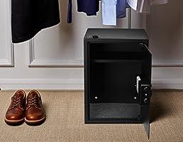 AmazonBasics - Caja fuerte para casa, 50 l: Amazon.es: Bricolaje y ...