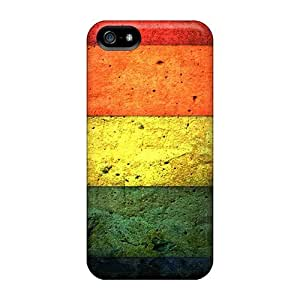 For SamSung Galaxy S4 Mini Phone Case Cover - Slim Fit PC Protector Shock Absorbent Case (five Wall Color)