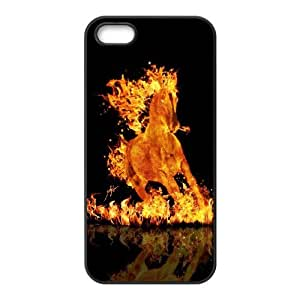 iPhone 4 4s Cell Phone Case Black Fire 11 BNY_6798757