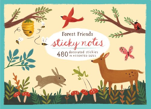 Forest Friends Sticky Notes Misc. Supplies – Jan 1 2013 Galison Yasmin Imamura 0735336644 NON-CLASSIFIABLE