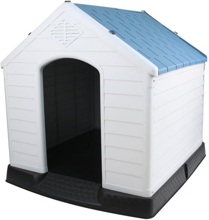 Jia He ペットベッド ペットハウス - プラスチック犬用ペット用品室内用屋外ペットハウス動物用隠し猫用ネストフォッサ防水着脱式 @@