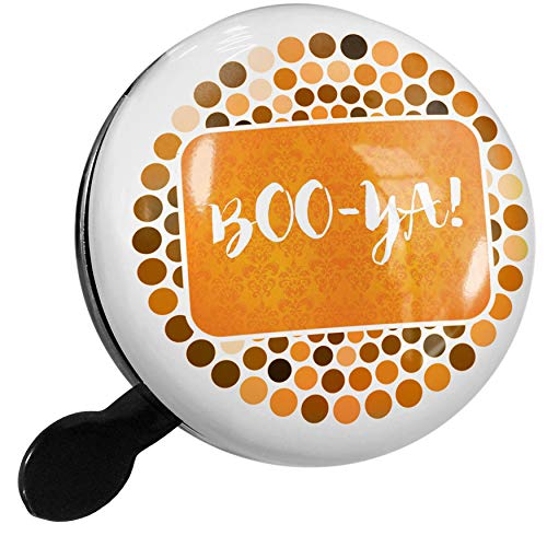 NEONBLOND Bike Bell Boo-YA! Halloween Orange Wallpaper Scooter or Bicycle -