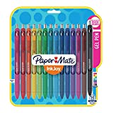 Papermate Inkjoy Gel Pens, Fine Point (0.5mm), Assorted Colors Gel Ink Rollerball Pen (1988991)