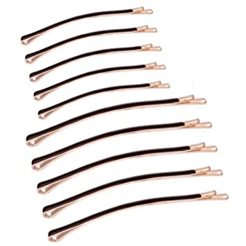 Amazon.com : Jumbo Bobby Pins Metal Hair Pins Aguder Hair Clips for Hair Decoration, 10pcs (5 long and 5 short) (Brown) : Beauty