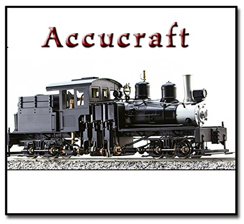 - ACCUCRAFT AC77-218 SHAY - 3FT GAUGE 28T LIVE STEAM ENGINE
