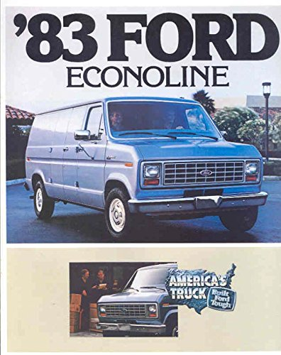 Ford Brochure - 1983 Ford Econoline Van Truck Brochure