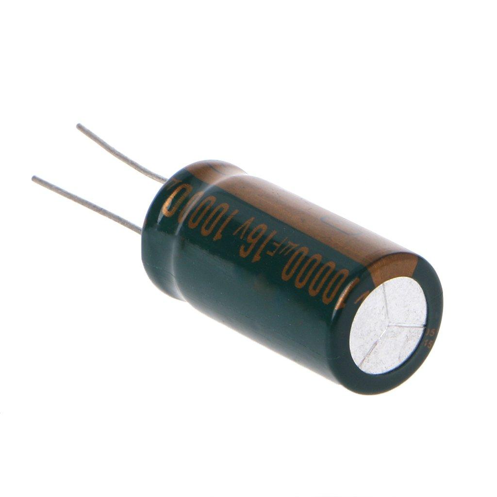 2pcs 10000uF 100V Electrolytic Capacitor 105℃ 35X50mm New