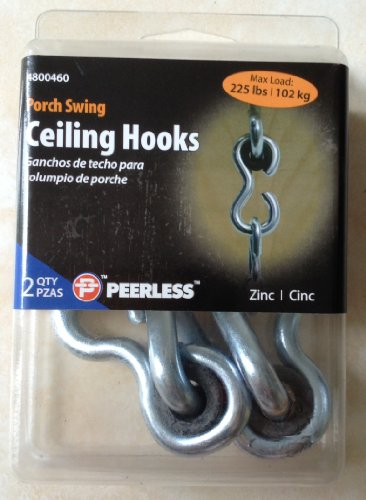 Porch Swing Ceiling Hooks 2 Pcs per Pack ()