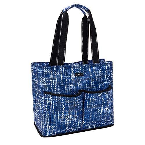 SCOUT Mother Load Baby Bag, Insulated Pocket for Bottles, Stroller Hooks, Multiple Zippered Compartments (East of Tweeden)