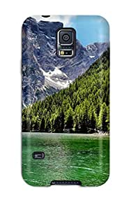 Christmas Gifts 9105814K87597602 Tpu Case Cover For Galaxy S5 Strong Protect Case - River Design