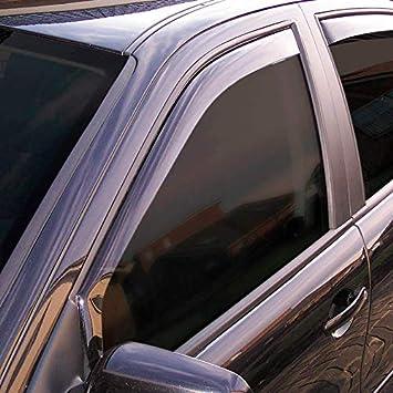 Black Climair 3966 Window Visors Dark Ford Fiesta 5 Doors 2017