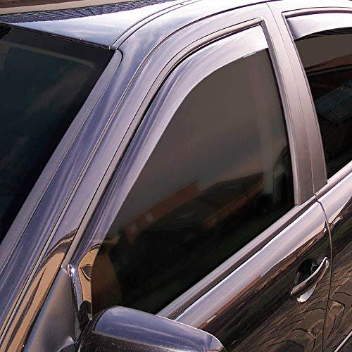 ClimAir P0002 D/éflecteurs lat/éraux Dark Toyota Hilux Extra Cab 2-Portes 2016 Noir