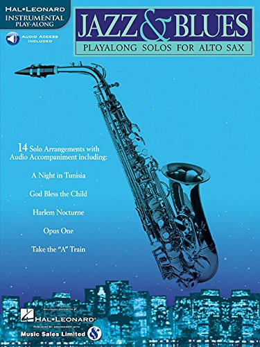 Jazz & Blues: Play-Along Solos for Alto Sax ()