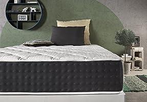 Living Sofa COLCHÓN VISCO Bio Green® 140x190 cm| Gran Confort | 30 CM Grosor | Terapia Natural Relax | FIRMEZA Y ADAPTABILIDAD | Libre DE SUSTANCIAS ...