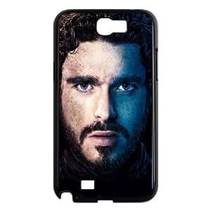 Samsung Galaxy N2 7100 Cell Phone Case Black_Game Of Thrones Robb Stark Vwxbi