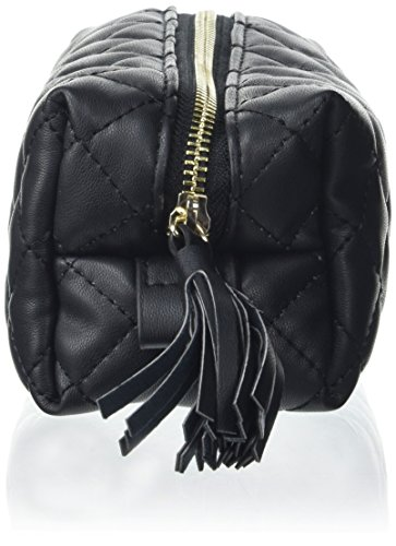 PIECES - Pcnanci Pencil Case, Carteras de mano Mujer, Schwarz (Black), 7x9x20 cm (B x H T)