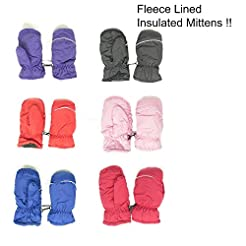 Magg Kids Toddlers Fleece Lined Winter S...