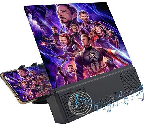 Phone Screen Amplifier Phone Screen Magnifier Thin Foldable Mobile Phone Amplifier 3D Phone Screen Amplifier Mobile…