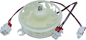 OEM EAU64824401 Evaporator Fan Motor Assembly for Kenmore LG Refrigerator EAU36179308 replaces EAU36179305 AP6887862 PS12725090 4931309