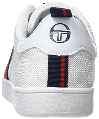 Red Sneaker Tacchini Navy White Uomo Sergio Bianco MSH Ghibli qUxw7PBR