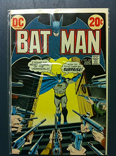 BATMAN #249 The Citadel of Crime Jun 73 Very Good (3 out of 10) Well Used by Mickeys - Out Citadel