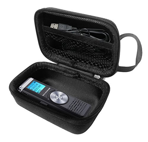 FitSand Hard Case for TENSAFEE Digital Voice 8G Dictaphone Sound Recorder