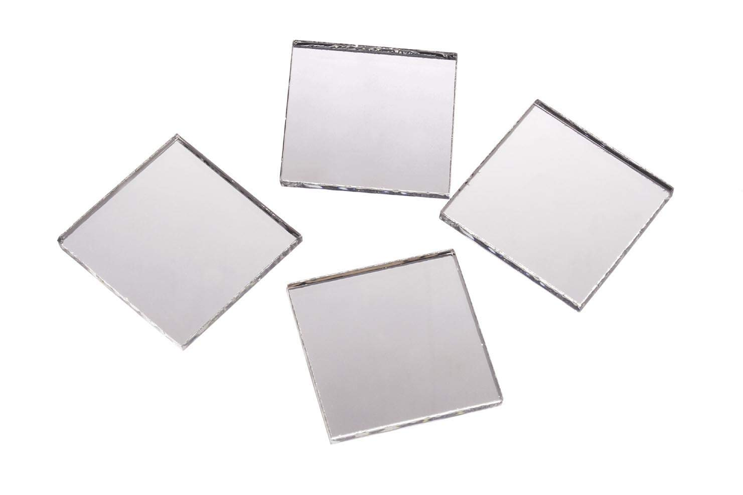 Darice Mirrors Big Value Square 1'' 25pc