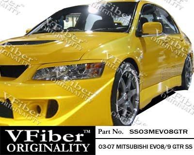 2003-2007 Mitsubishi EVO 8/9 4dr Body Kit GTR Side ()