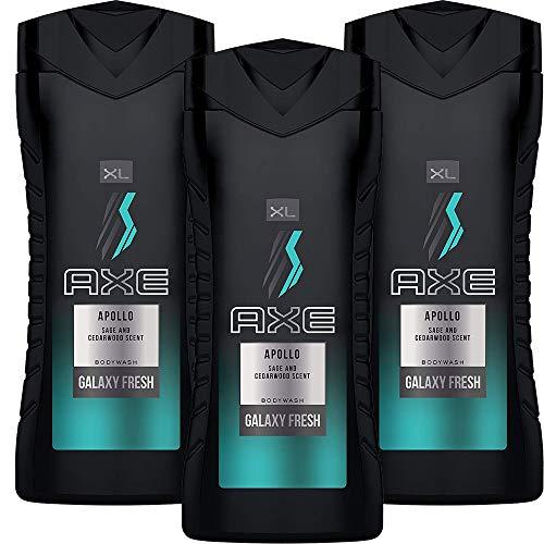 Axe Body Wash for Men, Apollo, 400 ml / 13.5 fl oz, 3-Pack Black Friday Deals 2019