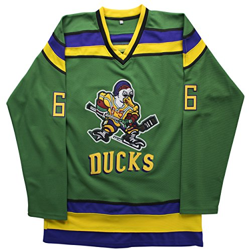 (MOLPE Gordon Bombay 66 'Mighty Ducks Movie' Jersey S-XXXL Green (XXXL))