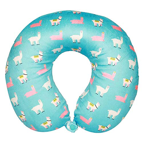 Bon Voyage Travel Neck Pillow – Memory Foam Cushion, Removable Washable Cover