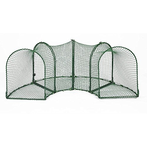 Kittywalk Curves Outdoor Play Enclosure by Kittywalk