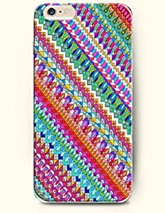 SevenArc Apple iPhone 6 Case 4.7' - Aztec Indian Chevron Zigzag Pattern ( Colorful Andes Tribal Pattern ) by supermalls