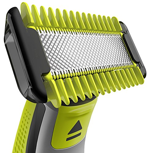 Philips-OneBlade-Hybrid-Body-and-Face-Trimmer-with-4-x-Lengths-1-Extra-Blade-and-Travel-Pouch-Amazon-Exclusive-UK-2-Pin-Bathroom-Plug-QP263030