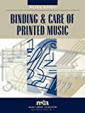 Binding and Care of Printed Music, Alice Carli, 0810846519