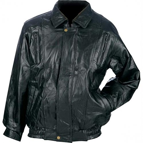 Italian Leather Motorcycle Jacket - 3