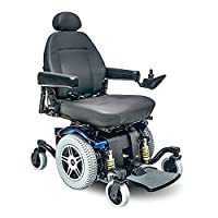 Pride Mobility - Jazzy 614 HD - Heavy Duty Power Chair - Viper Blue