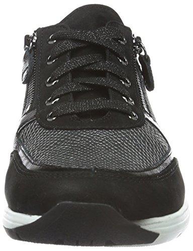 GanterGIANNA, Weite G - Sneakers Donna Nero (Schwarz 0100)