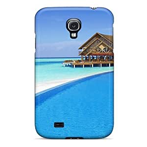 Galaxy Cover Case - Bahamas Scenery1 Protective Case Compatibel With Galaxy S4